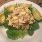 Chicken Salad with Curry and Lemon Dressing