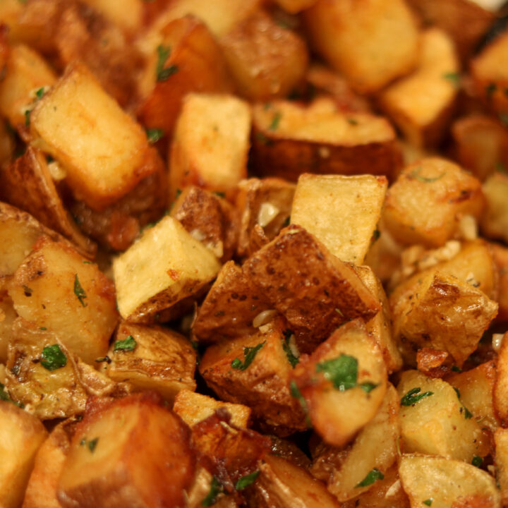 brabant potatoes in a bowl