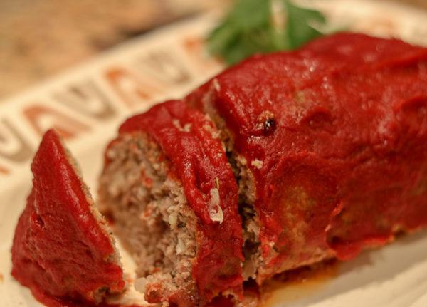 Sliced Meatloaf