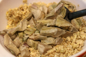 Artichoke Hearts and Filling