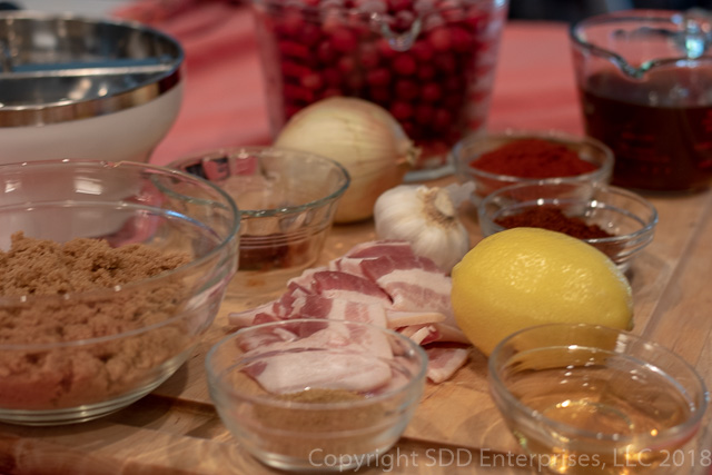 Ingredients for Cranberry BBQ Sauce