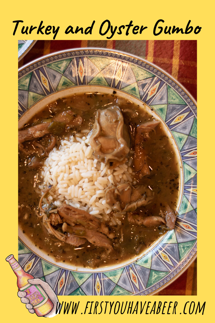 Turkey and Oyster Gumbo, it's the best idea for leftovers you could ever have. With the focus on turkey and oysters, we will build a foundation starting with a dark roux, smother some vegetables and seasonings in that roux, then simmer it slowly in a rich turkey stock. The result is a rich and homey gumbo perfect for the holidays or anytime.