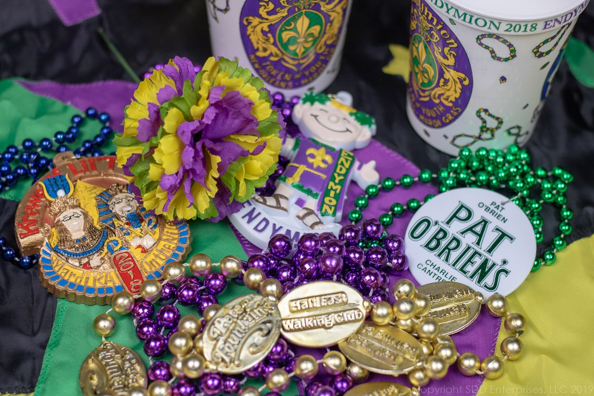 Mardi Gras Throws