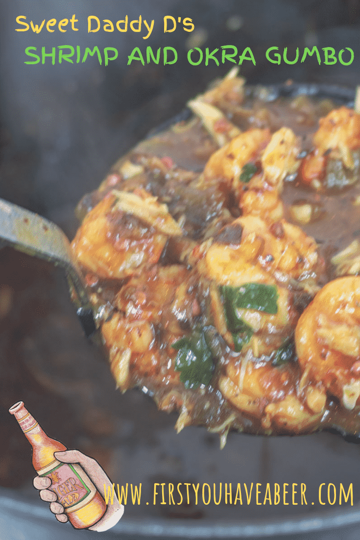 This Shrimp and Okra Gumbo is full of shrimp and okra with some added crab meat. Start with a roux and the Holy Trinity, then cook it in deliciously rich shrimp stock. Authentic Cajun...a taste of the Bayou State.