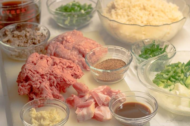 Dirty rice ingredients
