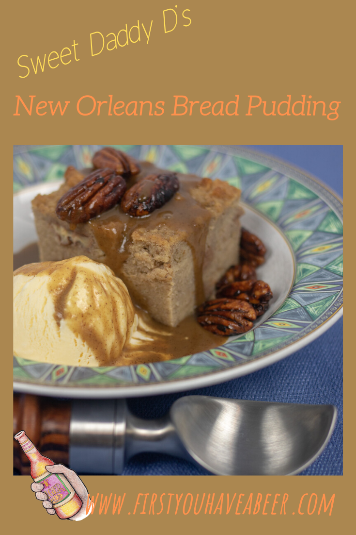Bread Pudding is the quintessential New Orleans dessert, the treat after a fine meal at one of New Orleans classic Creole restaurants or any of the fabulous neighborhood eateries in New Orleans and South Louisiana. Sweet Daddy D's Bread Pudding with Cane Syrup Rum Sauce, a New Orleans style Bread Pudding topped with a sweet sauce made from Louisiana staples, you'll see what the fuss is all about.