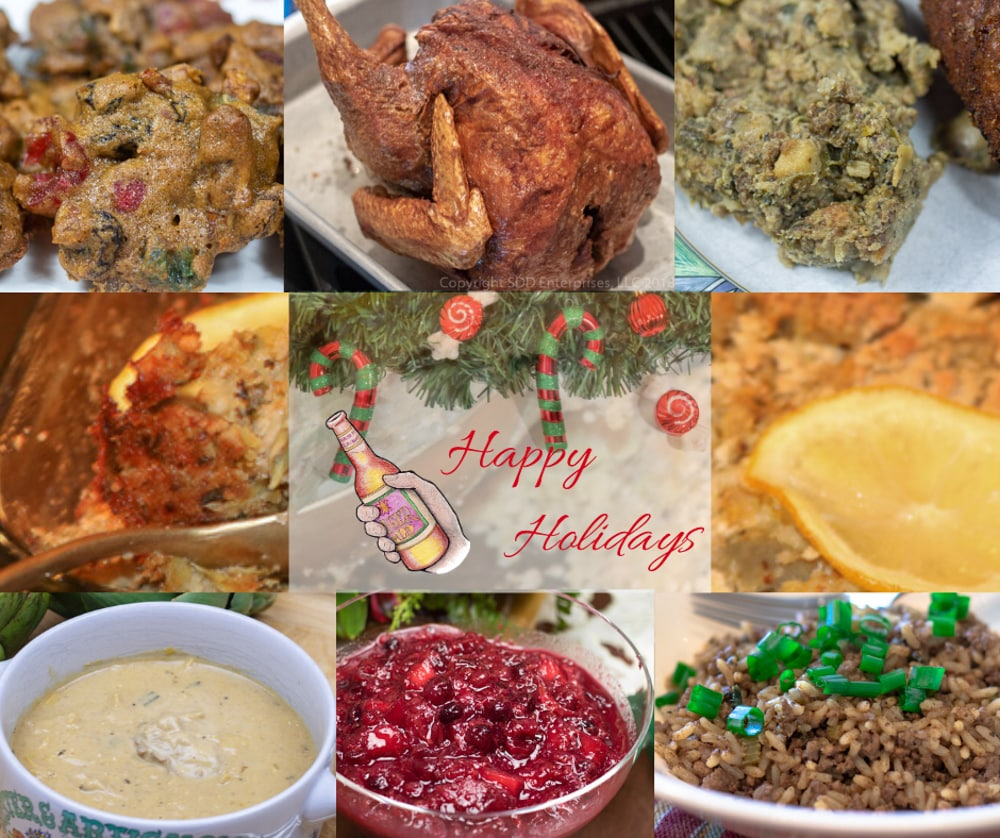 christmas recipe images with graphics