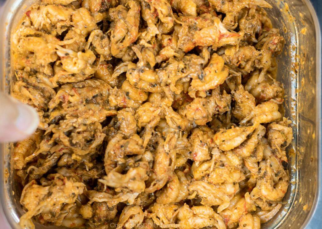 crawfish tails with creole seasoning