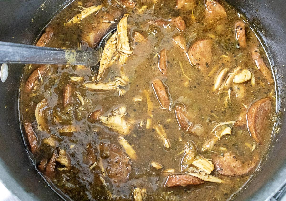 chicken andouille gumbo
