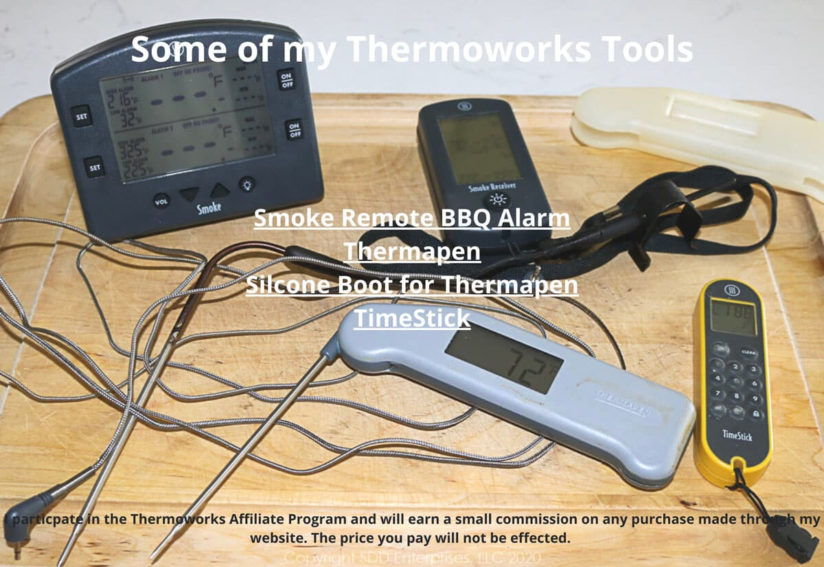 devices from Thermoworks on a board