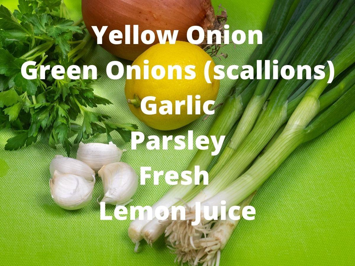 ingredients for crawfish monica
